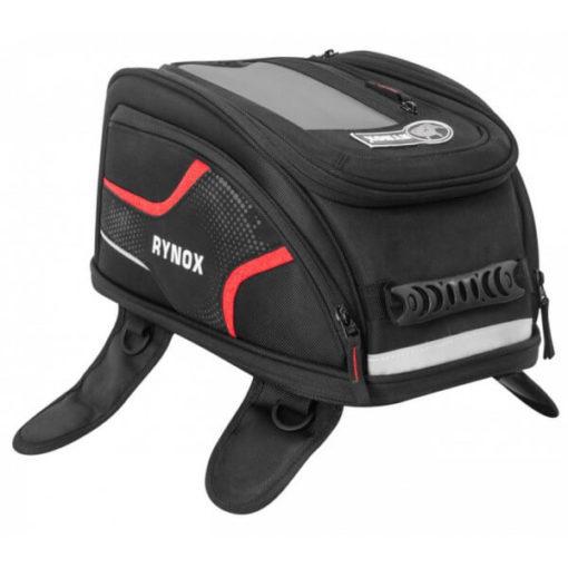 Rynox Magnapod Black Red Tank Bag