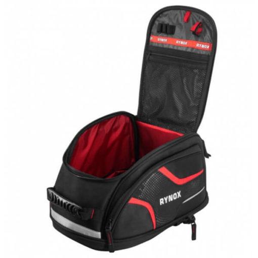 Rynox Magnapod Black Red Tank Bag7