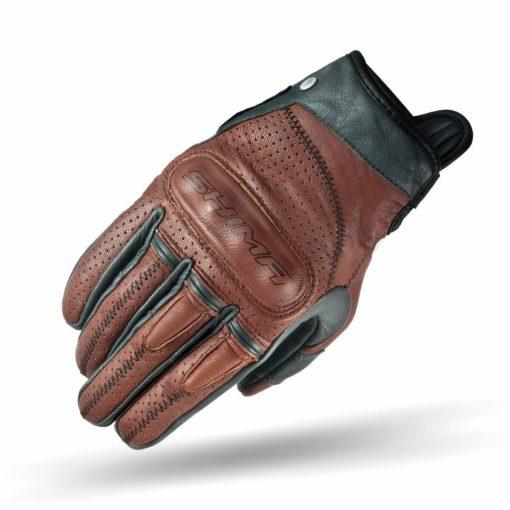 Shima Caliber Brown Riding Gloves
