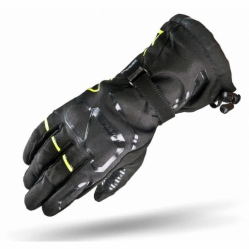 Shima Evo 2 Black Fluorescent Yellow Riding Gloves2