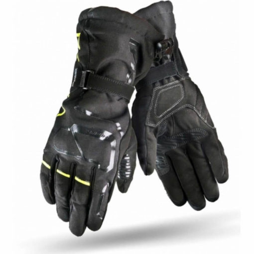Shima Evo 2 Black Fluorescent Yellow Riding Gloves3