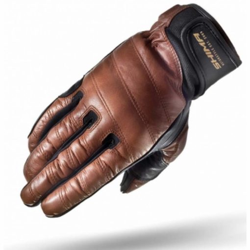 Shima Revolver Brown Riding Gloves1