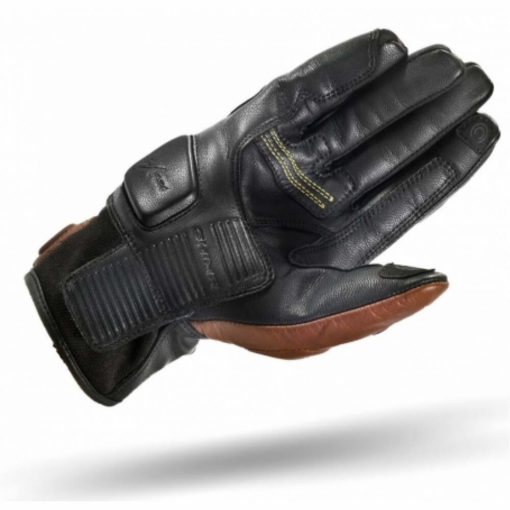 Shima Revolver Brown Riding Gloves2