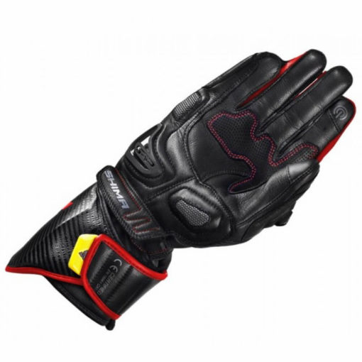 Shima Sports RS 2 Black Red Riding Gloves2