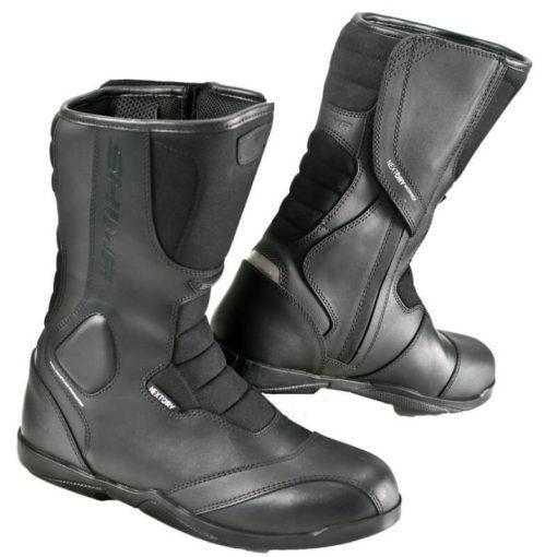 Shima Strada Touring Black Riding Boots
