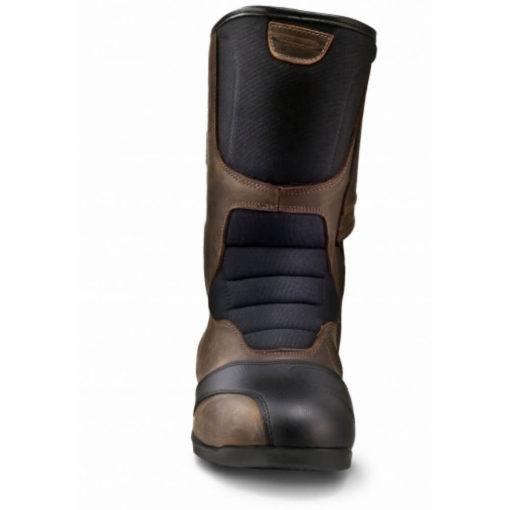 Shima Strada Vintage Waterproof Brown Riding Boots1
