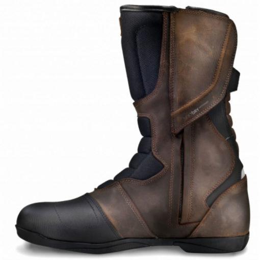 Shima Strada Vintage Waterproof Brown Riding Boots2