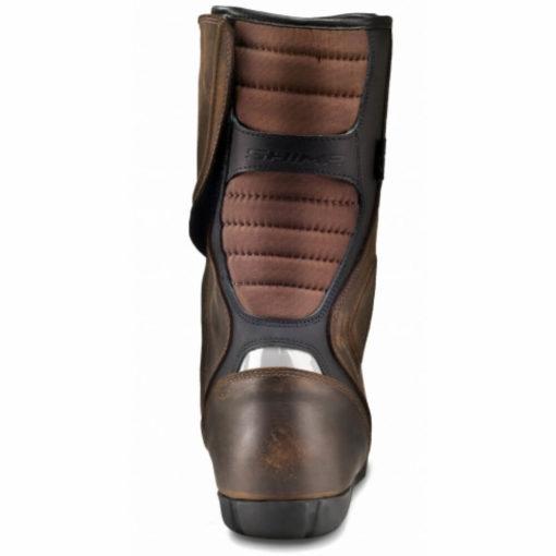 Shima Strada Vintage Waterproof Brown Riding Boots3