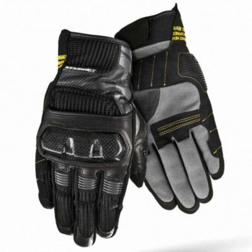 ShimaX Breeze Black Riding Gloves
