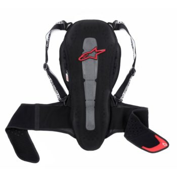 Alpinestars Nucleon KR 2 Black Red Back protector