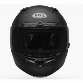 BELL Qualifier DLX MIPS Illusion Matt Gloss Black Blue Full Face Helmet front 2