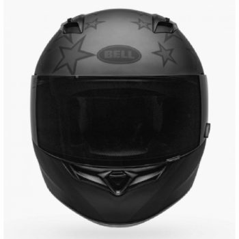 BELL Qualifier Honor Matt Titanium Black Full Face Helmet front