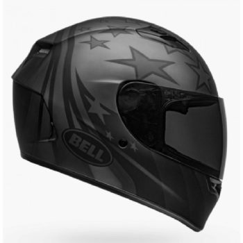 BELL Qualifier Honor Matt Titanium Black Full Face Helmet side