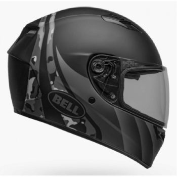 BELL Qualifier Integrity Matt Camo Black Grey Full Face Helmet SIDE