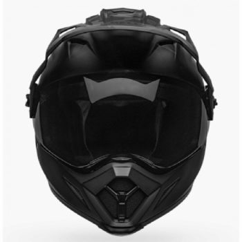 Bell MX 9 Adventure MIPS Stealth Camo Black Dualsport Helmet front 2