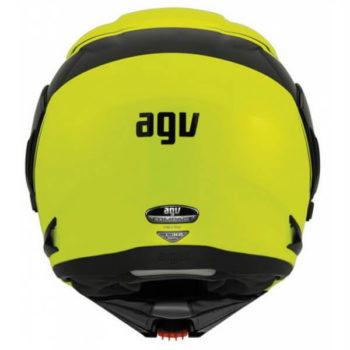 AGV Compact Multi PLK Course Yellow Black Flip Up Helmet 3