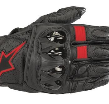 Alpinestars Celer V2 Black Red Riding Gloves