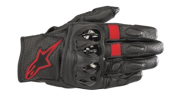 Alpinestars Celer V2 Black Red Riding Gloves Buy Online In