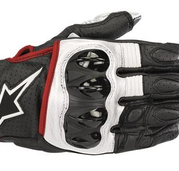 Alpinestars Celer V2 Black White Red Riding Gloves