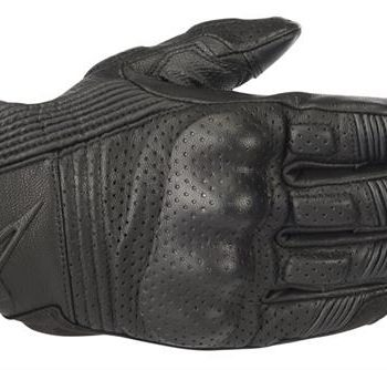 Alpinestars Mustang V2 Black Black Riding Gloves
