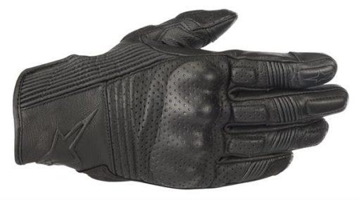 Alpinestars Mustang V2 Black Black Riding Gloves