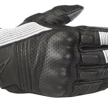 Alpinestars Mustang V2 Black White Riding Gloves