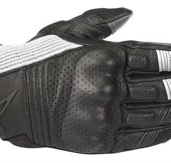Alpinestars Mustang V2 Black White Riding Gloves