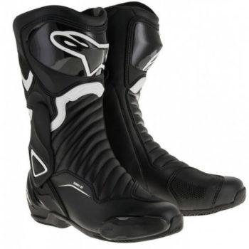 Alpinestars SMX 6 V2 Black White Boots