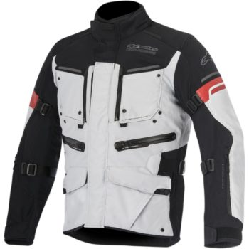 Alpinestars Valparaiso 2 Drystar Black Grey Red Jacket
