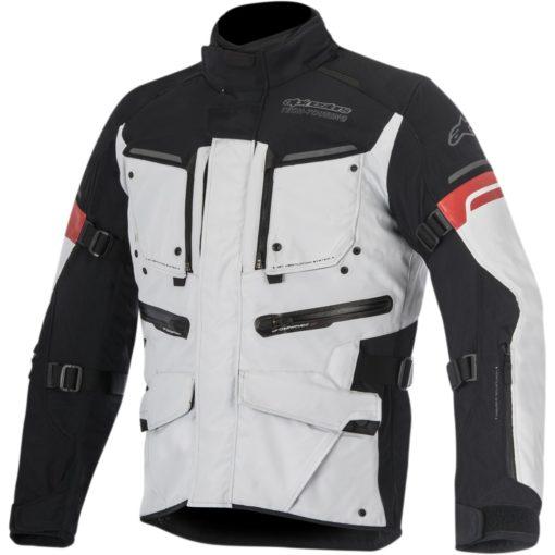 Alpinestars Valparaiso 2 Drystar Black Grey Red Jacket