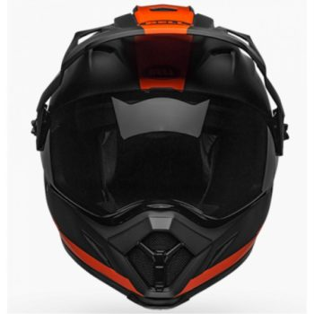 Bell MX 9 Adventure MIPS Switchback Matt Black Fluorescent Orange Dual sport Helmet 2