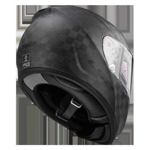 LS2 FF397 Carbon Vector C Class Matt Full Face Helmet 2