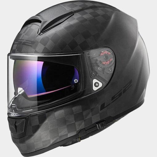 LS2 FF397 Carbon Vector C Class Matt Full Face Helmet