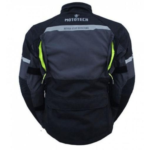 Mototech Trailblazer Tourpro Black Grey Riding Jacket 1
