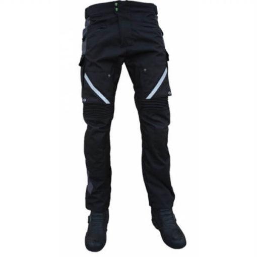 Mototech Trailblazer Tourpro Black Grey Riding Pants1