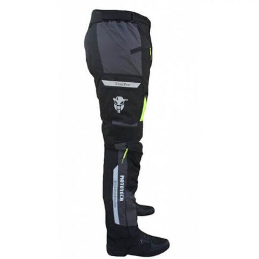Mototech Trailblazer Tourpro Black Grey Riding Pants2