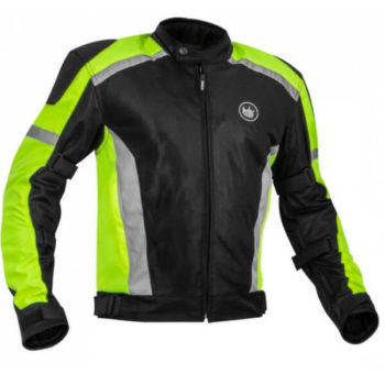 Rynox Helium GT Fluorescent Green Riding Jacket