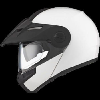 Schuberth E1 Gloss White Flip up Helmet