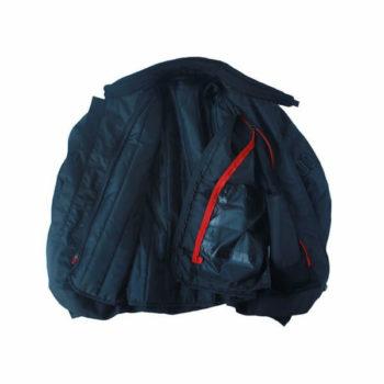 Mototech Scrambler Air Womens Black Blue Motorcycle Jacket2