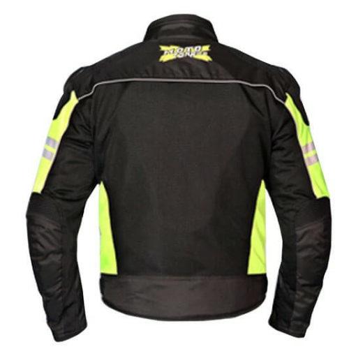 Mototorque Resistor L2 Black Fluorescent Yellow Riding Jacket1