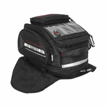 Rynox Optimus V2 Magnetic semi Hard Case Black Tank Bag 1