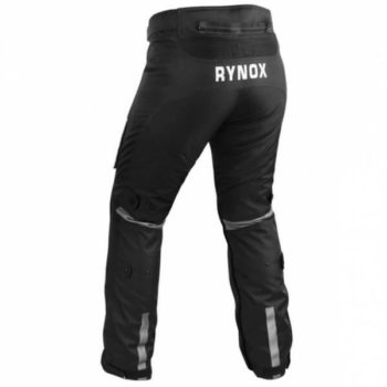 Rynox Stealth Evo Black Riding Pants1