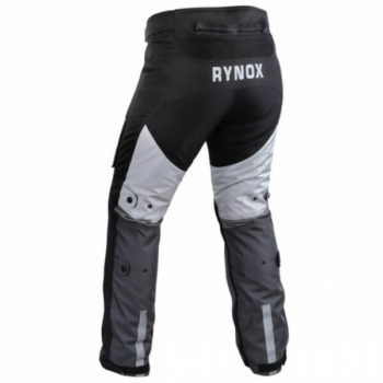 Rynox Stealth Evo Grey Riding Pants1