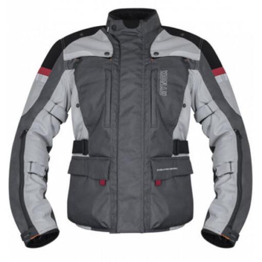 Rynox Stealth Evo V3 L2 Grey Riding Jacket