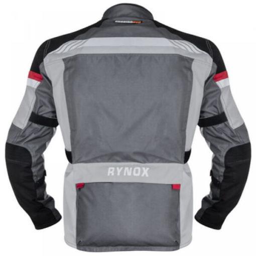 Rynox Stealth Evo V3 L2 Grey Riding Jacket1