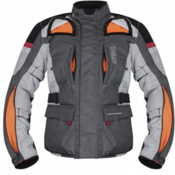 Rynox Stealth Evo V3 L2 Grey Riding Jacket2