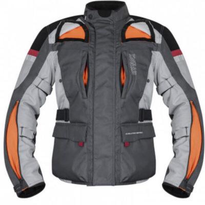 Rynox Stealth Evo V3 L2 Grey Riding Jacket2