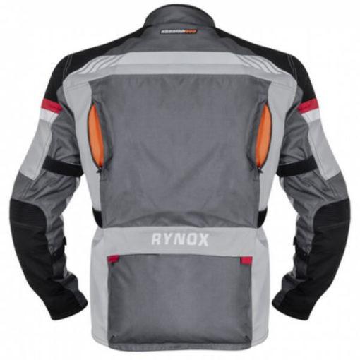 Rynox Stealth Evo V3 L2 Grey Riding Jacket3