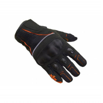XDI Rage Black Orange Gloves0