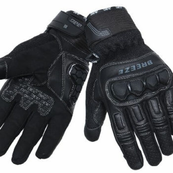 BBG Breeze Black Riding Gloves